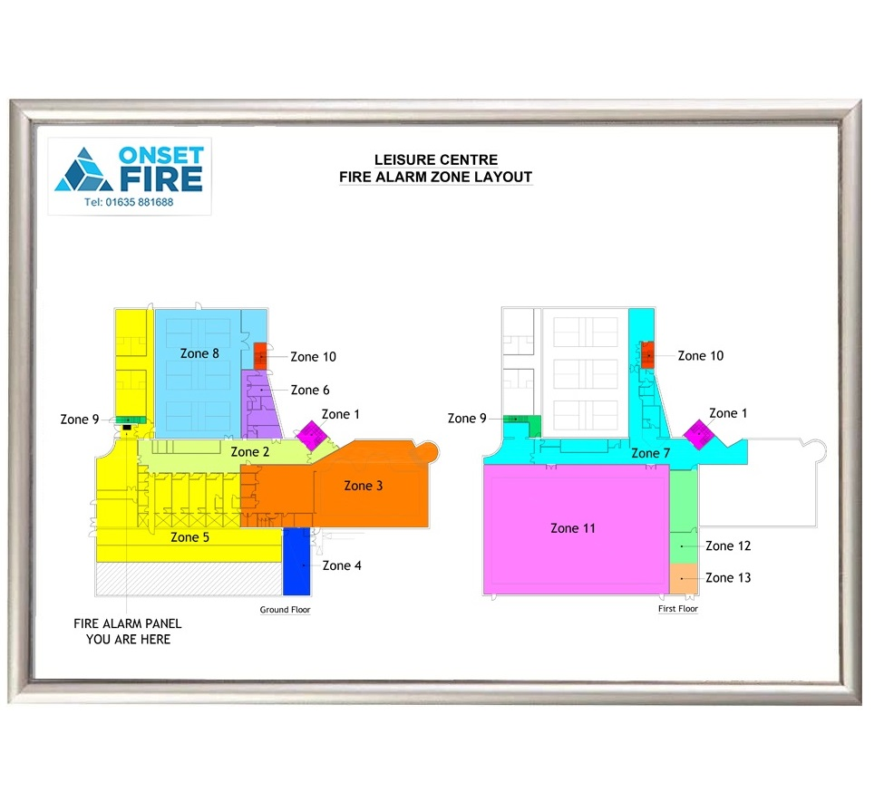 Do you have a fire alarm zone plan onset fire fire for Zone plan
